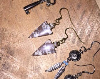 3 sets of Earrings