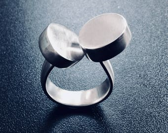 Sterling silver statement ring #5