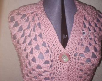 Crochet Ladies Cardigan