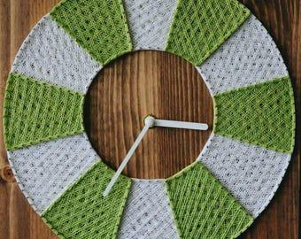 Modern Wall Clock Rustic Clock Decorative Clock Office Wall Clock Bedroom Clock Hanging Clock Geometric Clock Small Wall Clock Designer Cloc