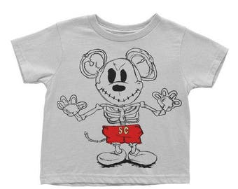 X-ray Mousey Toddler/Kid Tees - FREE SHIPPING - Mickey Baby Shower - Mickey Mouse Tshirt - Disney Onesie - Mickey Mouse Shirt