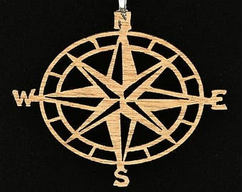 Find My Way Compass Necklace
