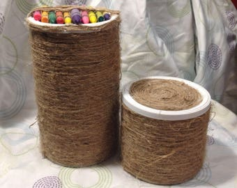 Crayon Canister set of 2