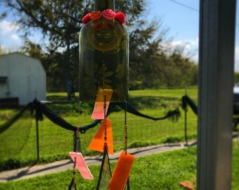 Handmade Wind chime- Little flower