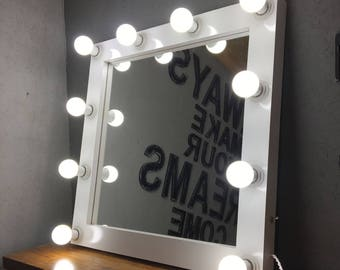 Hollywood mirror Vanity mirror Industrial mirror Full length mirror Wedding mirror sign Bathroom mirror Fairytale gift Round mirror