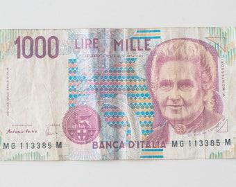1000 Lira Note