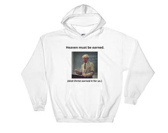 Heaven Must Be Earned Hooded Sweatshirt