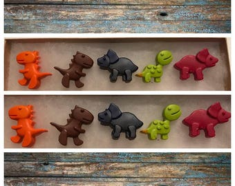 Baby Dinosaur Crayons - set of 10
