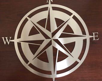 Nautical Compass Wall Art