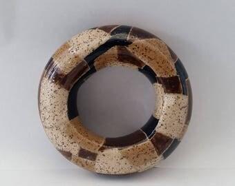Wheel Thrown Hollow Donut shape