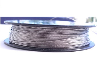 0.6mm Stainless steel wire rope Uncoated. SPOOL 200m