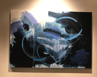 No. 10 - ORIGINAL ABSTRACT PAINTING modern artwork acrylic unique handmade