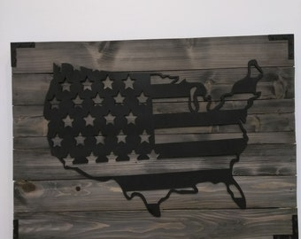 Wood Poster/ United States