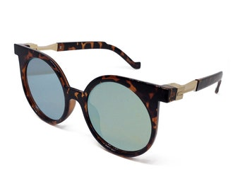 In The Zone Round Cat Eye Sunglasses