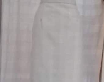 Skirt right vintage prince of Wales pattern