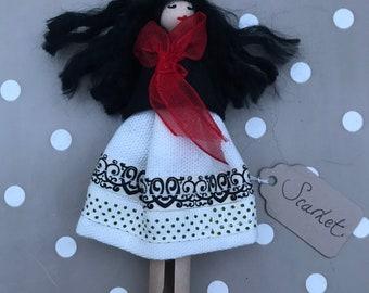 Handmade Collectable Peg Dolls