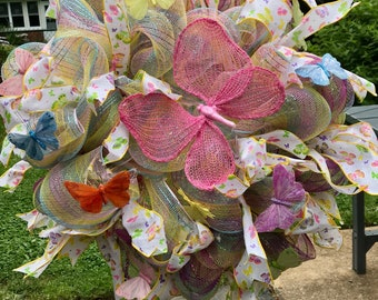 Spring/Summer Wreath (Actual Wreath)
