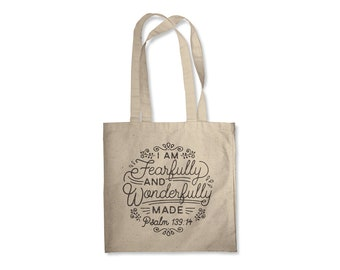 Tote Bag - Fearfully & Wonderfully Made