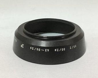 Nikon hn-3 metal lens hood 35mm f1.4, f2 f2.8 micro 55mm f3.5 & f2.8 e-k1000