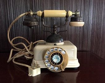 """Vintage Telephone """"Victorian French"""" Style JN-4"""