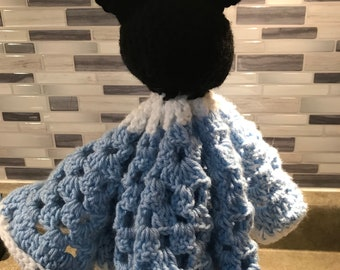 Baby Mickey lovey security blanket