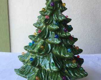 Ceramic Xmas Tree Etsy