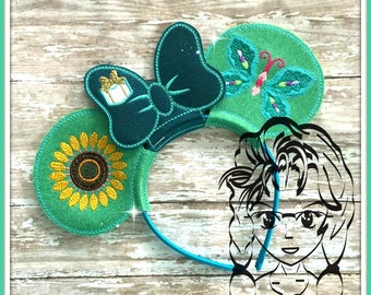 ICe SiSTER PrinCESS SuMMER Character (3 Piece) Mr Miss Mouse Ears Headband ~ In the Hoop ~ Downloadable DiGiTaL Machine Emb Design by Carrie