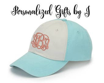 Bridesmaid Gift, Baseball Cap, Monogrammed Hat, Groomsman Gift, Personalized, Monogrammed Embroidered Baseball cap