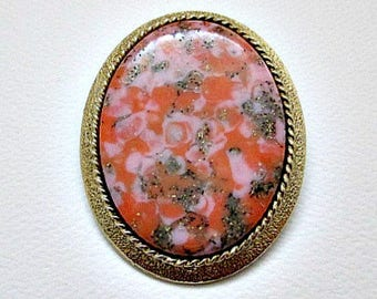 Sarah Coventry Pin Brooch - 1974 Coraline Brooch - 1970's Sarah Coventry - Sarah Cov Canada - Vintage Pin Brooch Pendant