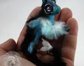 Poseable Reef Elemental Doll Hatchling Hatching Egg Handmade Creature Baby Fantasy Animal Mini Gift Mjalbertsculpts