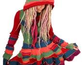 Goodie Gumdrop - CASHMERE - Flouncy Dress - MEDIUM LARGE