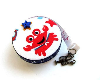 Measuring Tape with Lobster and Whale Retractable Tape Measure