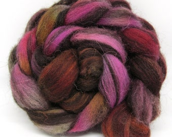 Jacob Humbug Kettle Dyed Wool Top JHT68  100g - 3.5oz