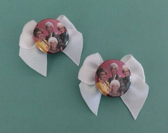 Golden Girls Hair Bow