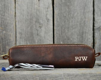 Arizona Leather Razor Case