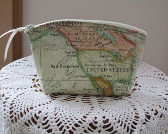 Expedition Cosmetic Bag Clutch Purse Essential Oil Case