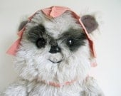 Vintage Ewok Princess Kneesaa Plush Star Wars Return of the Jedi Kenner 1980s Toy Stuffed Animal