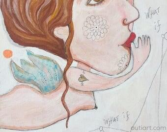 Queen of resonable doubt, original painting