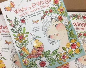 Coloring Book, Wishes & Wings and Wonderful Things, Cori Dantini