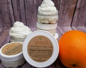 Ylang Ylang Orange Body Butter, Natural Body Moisturizer, Whipped Body Cream, Lightly Scented Lotion, Moisturizing Lotion, 2 oz, 4 oz