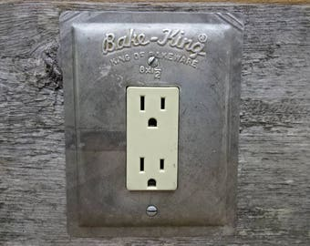 Kitchen Lighting Decor Outlet Cover Covers Made From Old