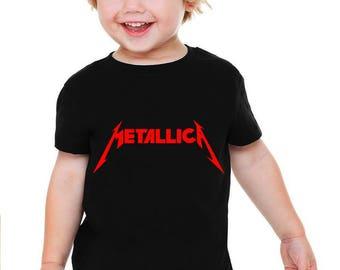 Metallica Baby or Toddler Gift T-Shirt & Optional Gift Box