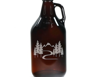 Great Outdoors Growler - manly, camping nature gift