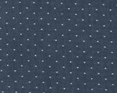 Robert Kaufman FABRIC - Chambray Dots - Indigo