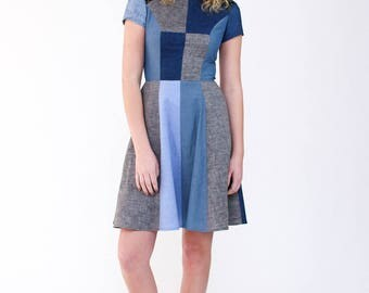 Megan Nielsen PATTERN - Karri Dress - Sizes XS to XL