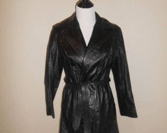 Closing shop SALE 40% off SALE SALE 70s black Leather Jacket, womens leather jacket black