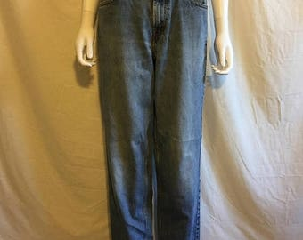 Closing Shop 40%off SALE Levis 560 jeans, Vintage 90's Loose Fit Straight leg    zip fly  waist W 31