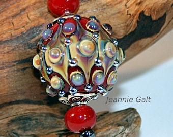 Lampwork  Art Jewelry by Jeanniesbeads #3093