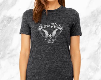 no. 643 - stevie nicks screen printed women's t-shirt