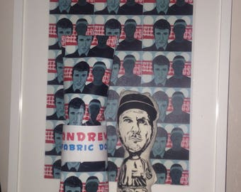 Andrew Fearn Fabric Doll - Andrew Fearn of The Sleaford Mods is now available as a fabric doll.
